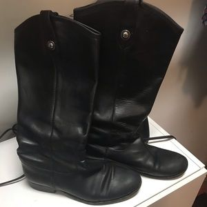 Frye Melissa tall size 10 wide calf boot
